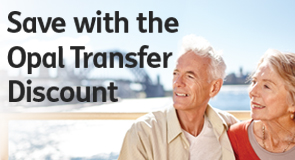 Opal transfer discount