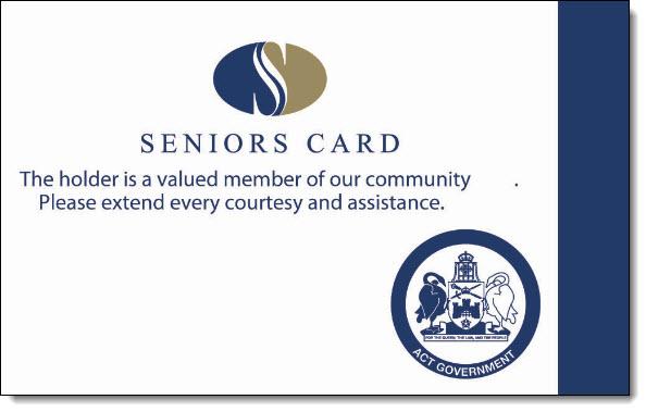Over 55 seniors card nsw