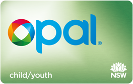 Child/Youth Opal card