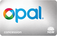 Concession Opal Card