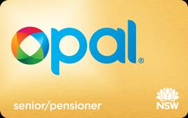 Senior/Pensioner Opal Card